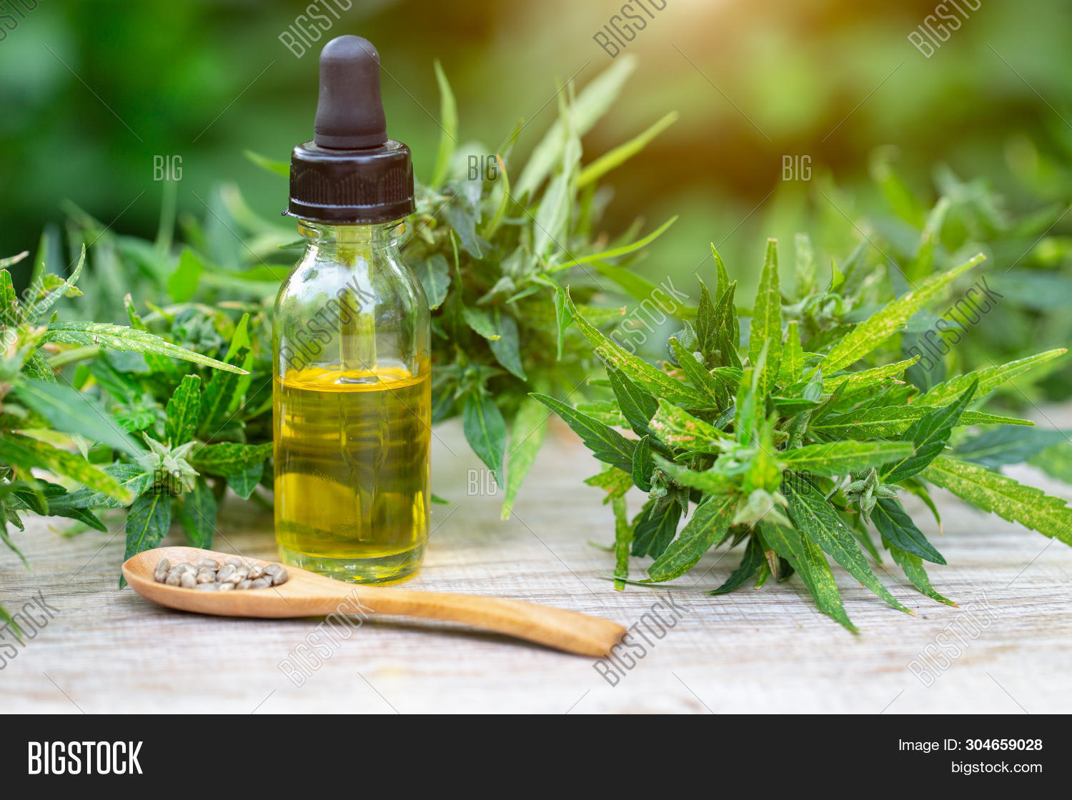Cbd Oil Cannabis Image & Photo (Free Trial) | Bigstock