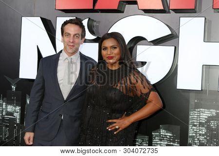 LOS ANGELES - MAY 30:  BJ Novak, Mindy Kaling at the