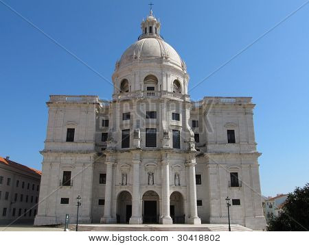 Church Of Santa Engrácia Or National Pantheon
