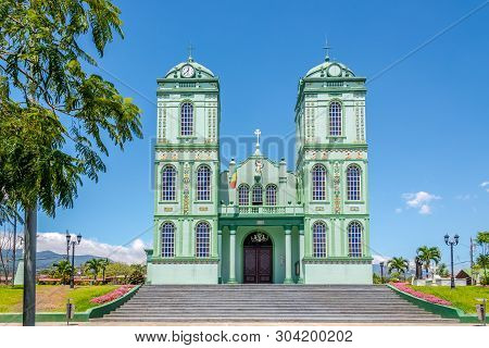View At The Church Of Sarchi - Costa Rica