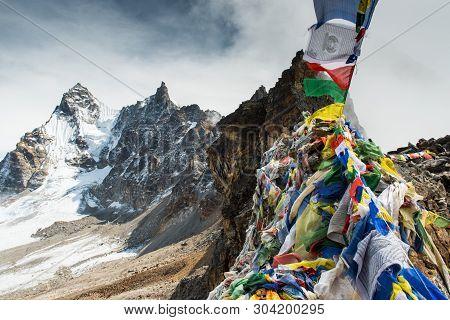 Renjo La Pass Trekking,one Of The Best Famous Nepal High Passes Trekking Is Beautiful Adventurous T