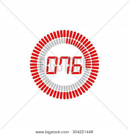 The 76 Seconds Icon Isolated On White Background. The 76 Seconds Icon Simple Sign. The 76 Seconds Ic