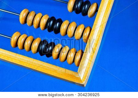 Abacus Is A Retro Computing Mechanical Device. Abacus -- Vintage Computer Mechanical Device, A Count