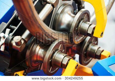 industrial tube bender equipment machine for metal pipe bending.