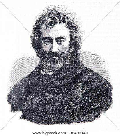 Nikolai Miklukho Maclay - Russian ethnographer, anthropologist, biologist and traveler. Illustration from