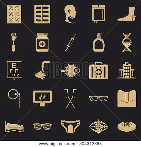 Invalid Icons Set. Simple Set Of 25 Invalid Vector Icons For Web For Any Design