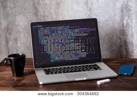 Developer Development Web Code Tech Coding Program Programming Html Screen Script Internet Professio