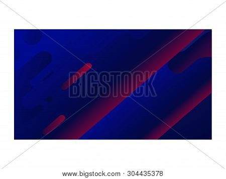 Abstract Background Gradient Color Wall Paper Dark Blue_04