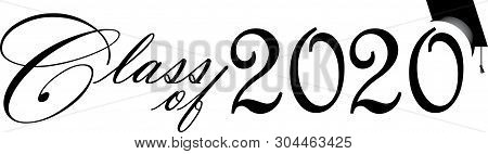 Graduation Banner 2020.Graduating Class 2020 Vector Photo Free Trial Bigstock