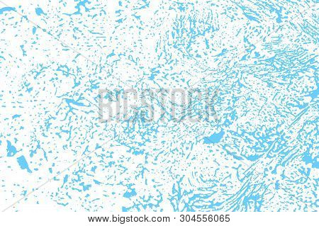Natural soap texture. Amazing light blue foam trace background. Artistic stunning soap suds. Cleanliness, cleanness, purity concept. Vector illustration. poster