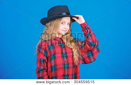 Cool Cutie Fashionable Outfit. Happy Childhood. Kids Fashion Concept. Check Out My Fashion Style. Fa