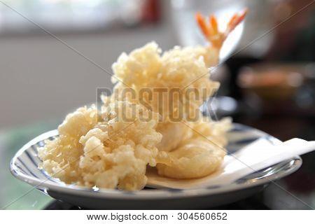 Tempura Fried Shrimp Japanese Style