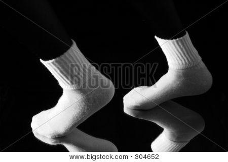 weiße Socken 4