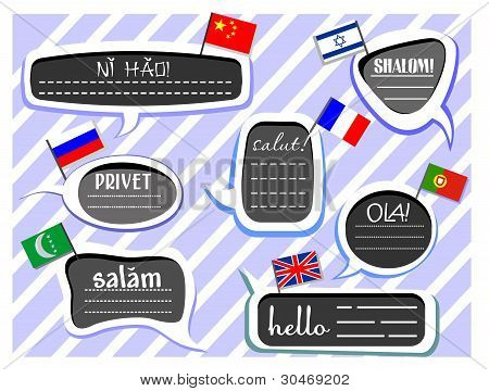 Different Language Greetings
