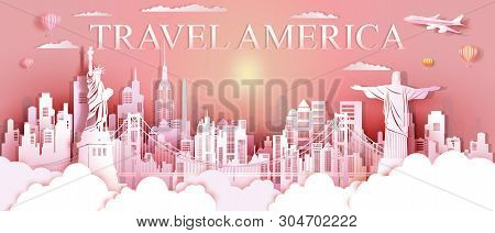 Tour Landmarks United States And South America Famous Monument Architecture Downtown, Travel Landmar