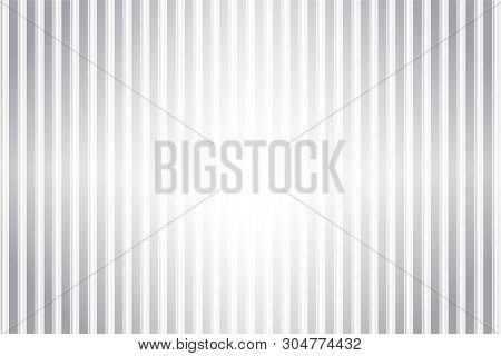 Gray Vertical Stripped Background. Vector Modern Background For Posters, Brochures, Sites, Web, Card