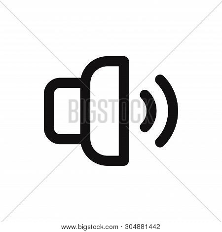 Volume Icon Isolated On White Background. Volume Icon In Trendy Design Style For Web Site And Mobile