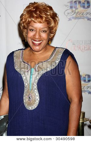 "LOS ANGELES - FEB 26:  CCH Pounder arrives at the ""Night of a 100 Stars"" Oscar Viewing Party at the Beverly Hills Hotel on February 26, 2012 in Beverly Hills, CA."