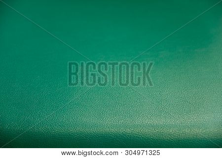 Surface Pattern Of Green Synthetic Leather Textured Background, A Textured Background Of Soft And Mo