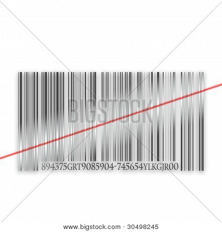 Three-dimensional metal bar code