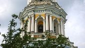 The tier of the ringing of the Great Lavra Belfry in Kiev Pechersk Lavra. The Big Bell poster