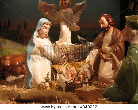 Indoor Nativity