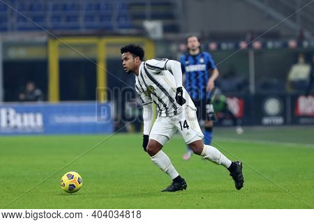Milano, Italy. 17th January 2021 . Weston Mckennie Of Juventus Fc  During The Serie A Match Between