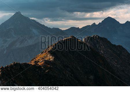 Beautiful Autumn Landscape. Beautiful Mountain Landscape. Autumn Mountains. Incredibly Beautiful Mou