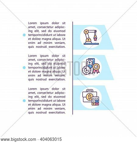 Cost Reduction Methods Concept Icon With Text. Decreasing Value In Cash Of Something. Ppt Page Vecto