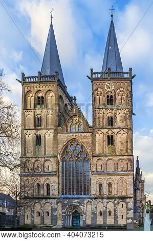 Xanten Cathedral, Sometimes Called St. Victor's Cathedral Is A Roman Catholic Church Situated In Xan