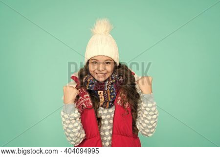 Successful Kid. Stay Warm And Stylish. Cold Winter Days. Vacation Time. Stay Active During Season. K