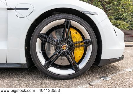Porsche Taycan Turbo S 2020 Wheel