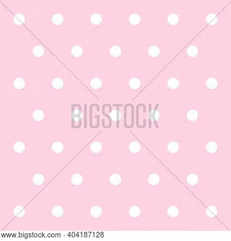 Valentines Day Pattern Polka Dots