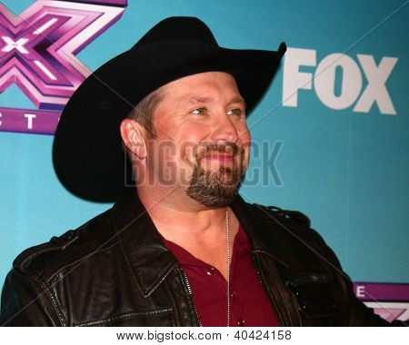 LOS ANGELES - DEC 20:  Tate Stevens - Winner of 2012 X Factor at the 'X Factor' Season Finale at CBS Television City on December 20, 2012 in Los Angeles, CA