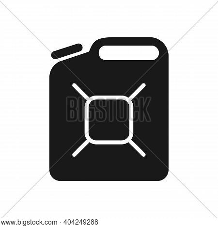 Jerrycan Icon Liquid Container Isolated On White Background. Vector Illustration.
