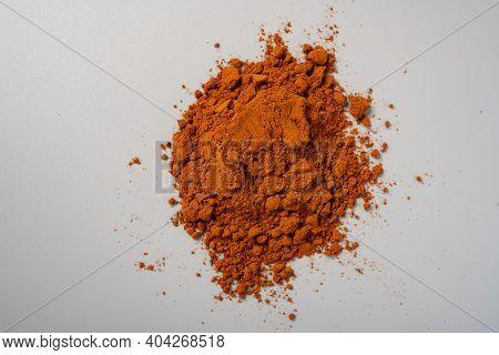 Top View Herb Rouguifen Or Cinnamomi Cortex Or Powdered Cassia Bark Powder