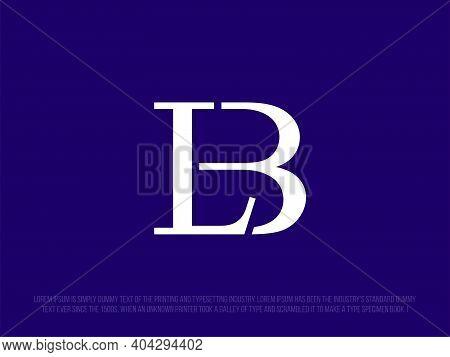 Modern Professional Logo Monogram Lb In Business Theme