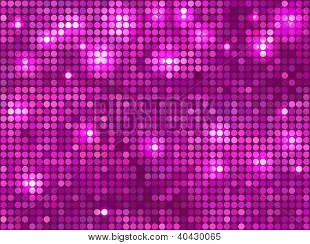 pink  vector background  horizontal mosaic with light spots poster