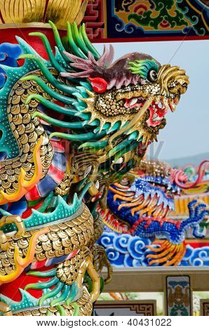 Dragon in chinese style