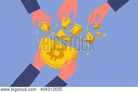 Buying And Selling Bitcoins, Hype In The Cryptocurrency Market, A Frenzied Demand For Bitcoin, Bulli