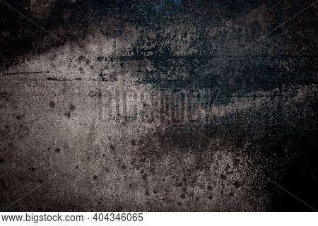 Metal Zinc. Metal Wall Pattern. Silver Steel Plate Texture For Iron Sheet Material Background. Conce