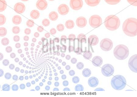 A Quirky And Cartoon Themed Abstract Background poster
