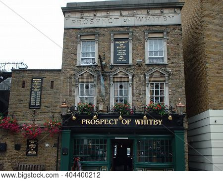 The Prospect Of Whitby Oldest Riverside Pub In London