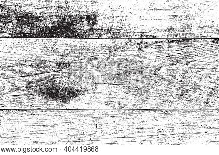 Distressed Grainy Wood Overlay Texture. Grunge Wooden Planks Messy Background. Dirty Rustic Empty Co