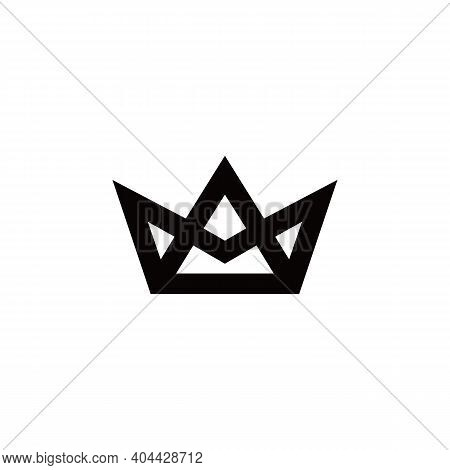 Crown Icon Isolated On White Background. Trendy Crown Icons And Modern Crown Symbols For Logos, Web,