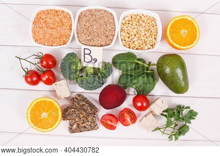Nutritious Ingredients Containing Vitamin B9, Dietary Fiber, Natural Minerals And Folic Acid, Concep