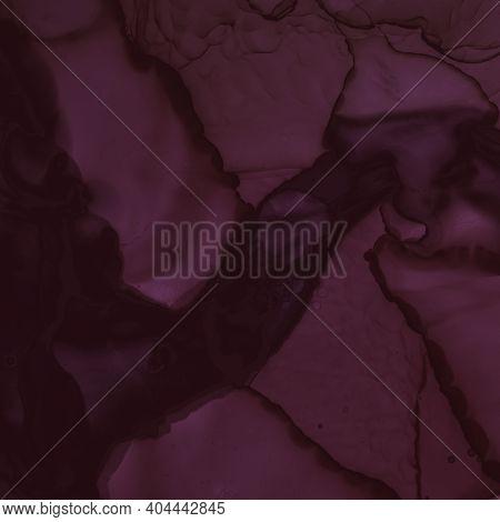 Alcohol Wine Wallpaper. Watercolour Winery Template. Graphic Painted Splash. Purple Art Cover. Burgu