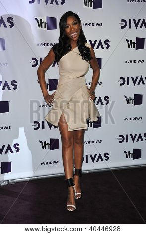 LOS ANGELES - DEC 16:  Brandy Norwood arrives to VH1 Diva's 2012  on December 16, 2012 in Los Angeles, CA