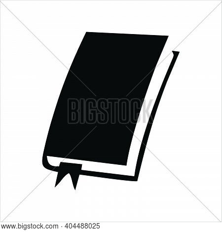 Book Icon Isolated On White Background From Book Collection. Book Symbol Trendy And Modern Book Icon