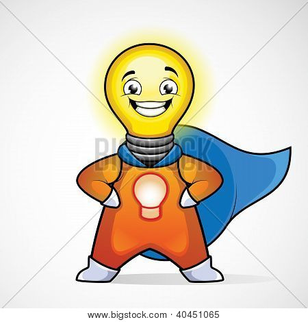 Idea Man. Superhero